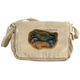 Atlantic Blue Crab Messenger Bag