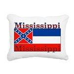 Mississippi.png Rectangular Canvas Pillow