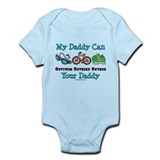 My Daddy Triathlon Baby Body Suit