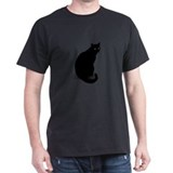 Basic Black Cat T-Shirt