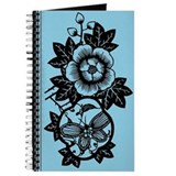 Trapped Butterfly (Turquoise) Journal