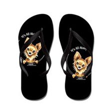 LH Chihuahua IAAM Flip Flops