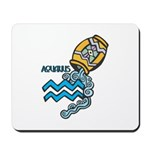 Aquarius Cool Water Design Mousepad