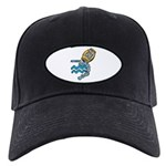 Aquarius Cool Water Design Black Cap