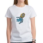 Aquarius Cool Water Design Women's T-Shirt