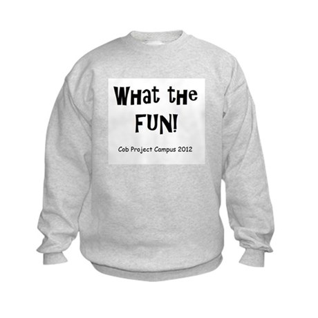 What Fun Kids Sweatshirt
