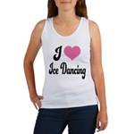 I Love Dancing Women's Tank Top