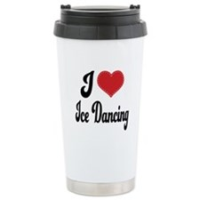 I Love Dancing Ceramic Travel Mug