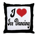I Love Dancing Throw Pillow