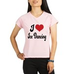 I Love Dancing Performance Dry T-Shirt