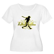 Softball Grandma (silhouette).png T-Shirt
