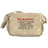 Warning BPD Messenger Bag