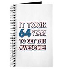 64 Year Old birthday gift ideas Journal