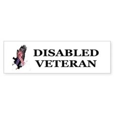 Disabled Veteran Bumper Bumper Bumper Sticker