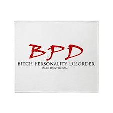 BPD Throw Blanket