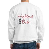 Highland dancing rocks my woolen socks Sweatshirt