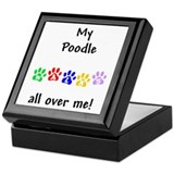 Poodle Walks Keepsake Box
