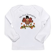 my first thanksgiving baby turkey Long Sleeve T-Sh