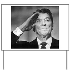 Ronald Reagan Yard Sign
