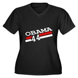Barack Obama 44 for President Shirt Women's Plus S