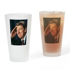 Ronald Reagan Drinking Glass