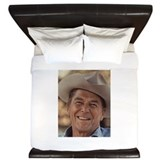 Ronald Reagan King Duvet
