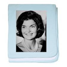 Jackie Kennedy baby blanket