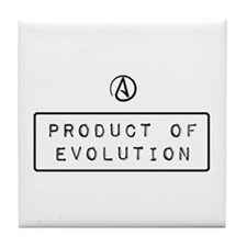 Product of Evolution Tile Coaster