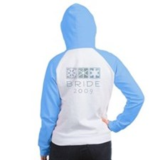 Winter Bride 2009 Women's Raglan Hoodie