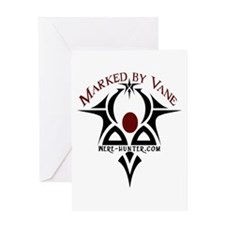 Marked by Vane Greeting Card