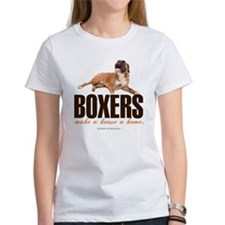 Home with a Boxer Tee