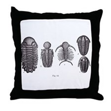 Trilobites Throw Pillow