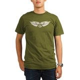 Winged Atheist Symbol T-Shirt