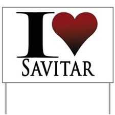 Savitar Yard Sign