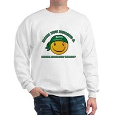 Cute Saudi Arabian Smiley Design Sweatshirt