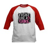 Fight Like a Girl 31.8 Breast Cancer Tee