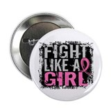 "Fight Like a Girl 31.8 Breast Cancer 2.25"" Button"