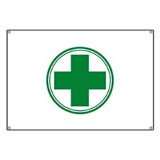 Green Cross Banner
