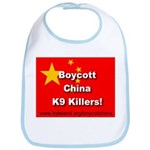 Boycott China K9 Killers Bib