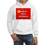 Boycott China K9 Killers Hooded Sweatshirt