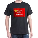 Boycott China K9 Killers Black T-Shirt
