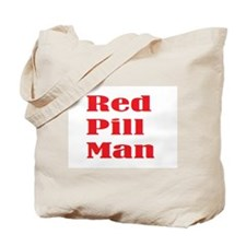 Red Pill Man Tote Bag