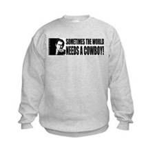 George W. Bush/Cowboy Sweatshirt