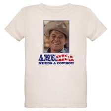 Ronald Reagan/Cowboy T-Shirt