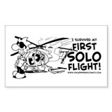 First Solo Flight (Helicopter) Decal