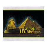 Best Seller Sphinx Throw Blanket