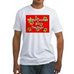 Kill the Commies Not the dogs Fitted T-Shirt