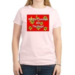 Kill the Commies Not the dogs Women's Pink T-Shirt