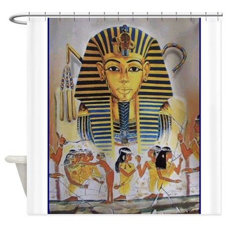 Best seller egyptian shower curtain by the jersey shore store for Egyptian bathroom designs