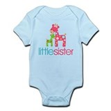 Funky Giraffe Little Sister Body Suit